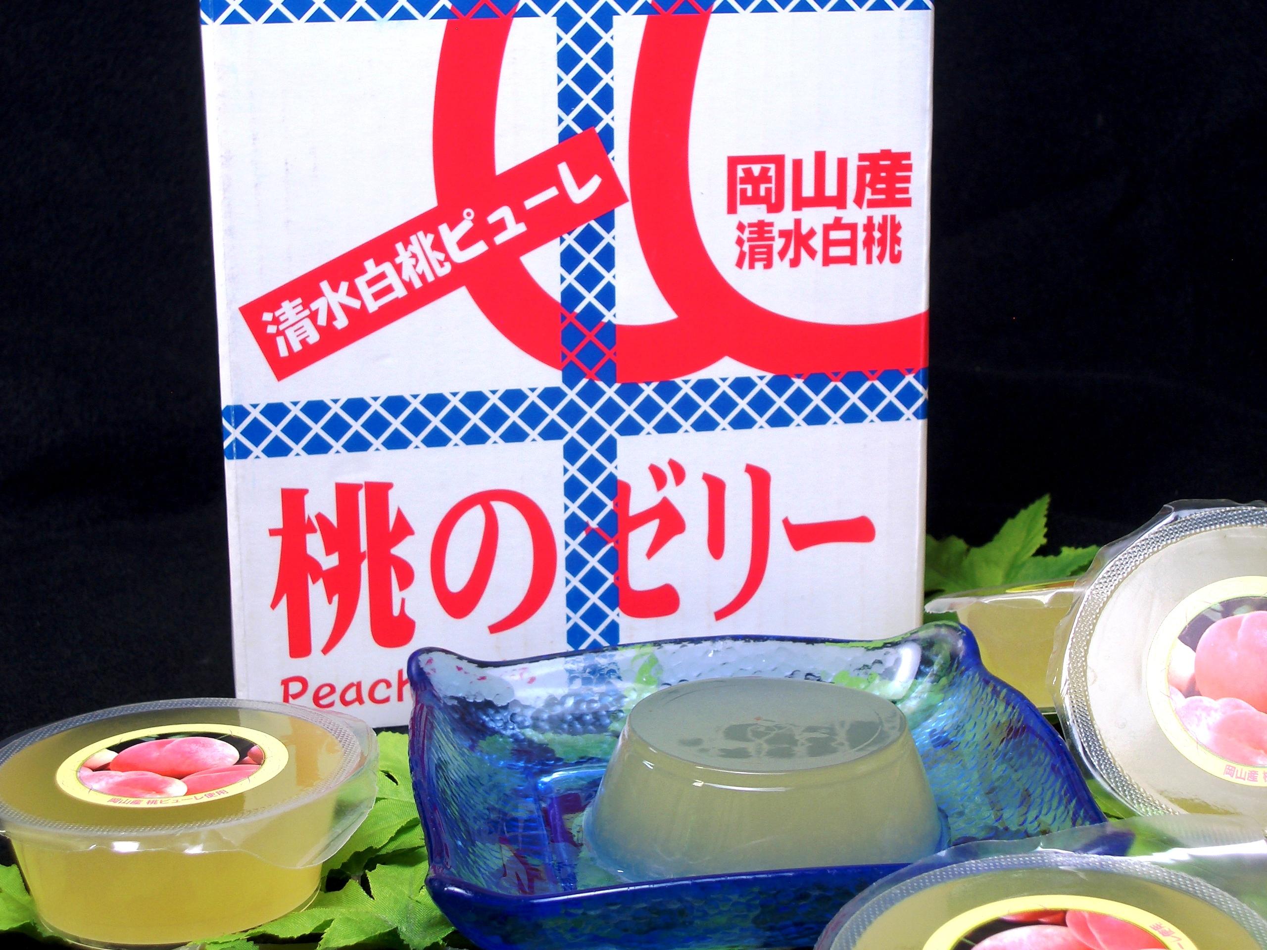 桃のゼリー (1)