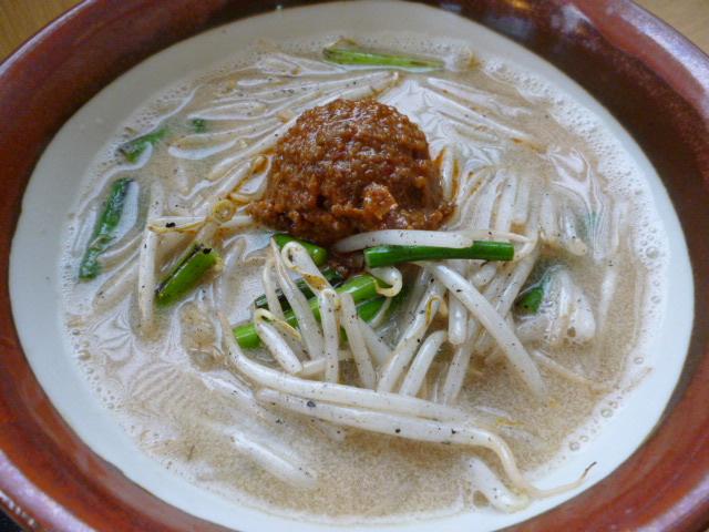 真庭PAスナックH26年度夏メニューまにわ坦々麺②680